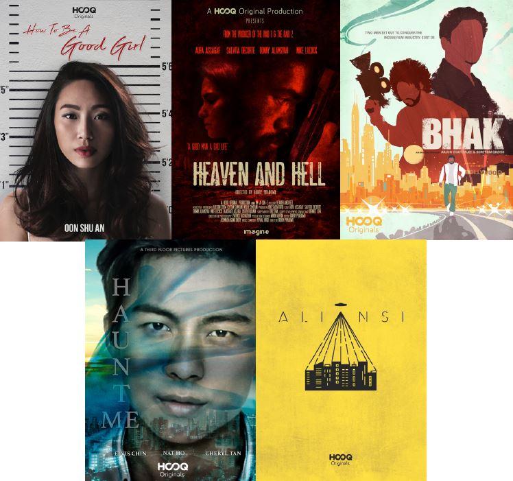 HOOQ (ฮุค) เปิดตัว 5 หนังซีรีส์เข้ารอบโครงการ HOOQ FILMMAKERS GUILD (ฮุค ฟิล์มเมกเกอร์ กิลด์)