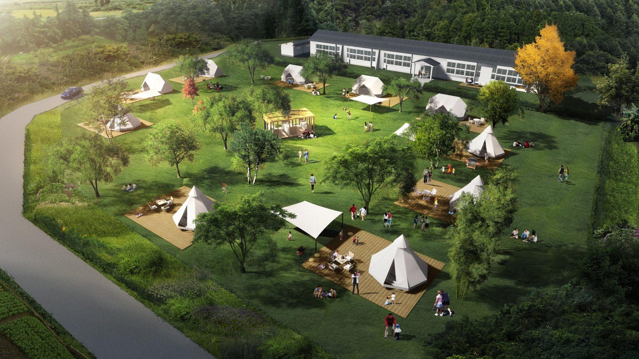 ฟูจิตะคันโกะเปิดตัว Nordisk Village ครั้งแรกที่หมู่เกาะโกโตะ ประเทศญี่ปุ่น