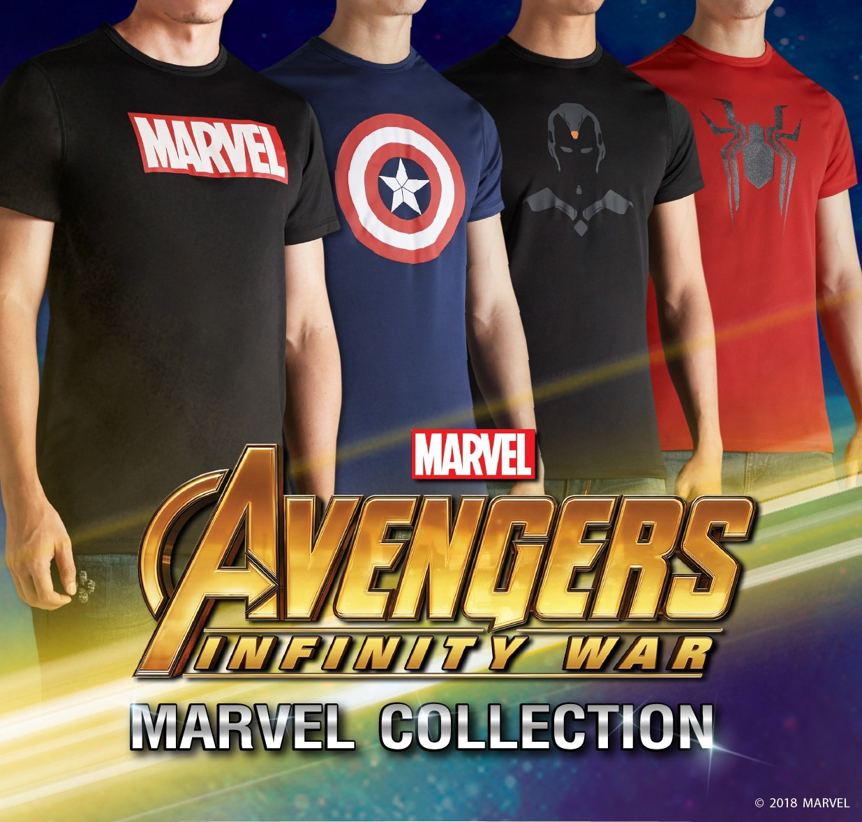 สาวกมาร์เวลห้ามพลาด! กับเสื้อยืด Mc Jeans Marvel Collection 13 -