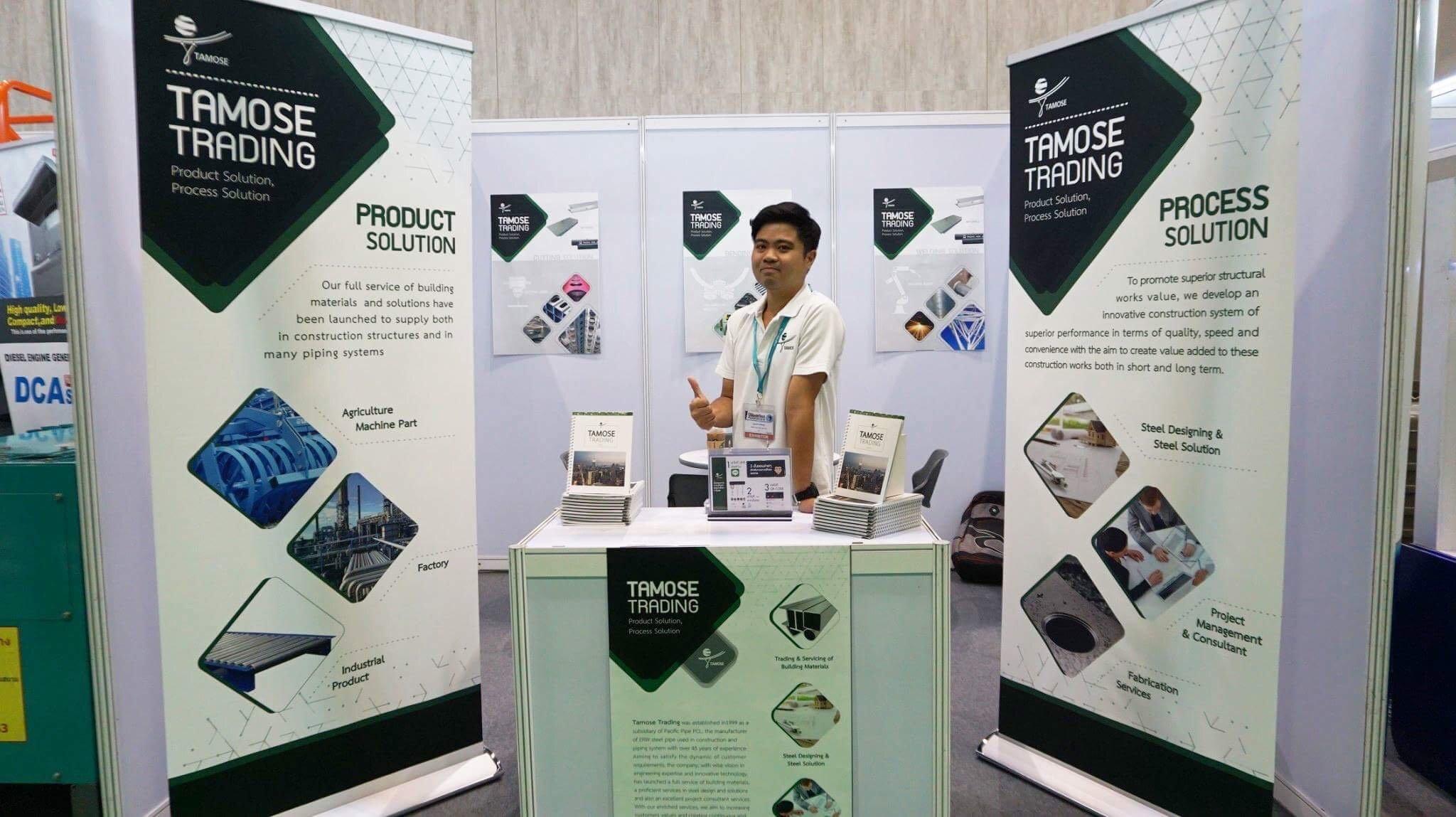 ทาโมเสะ เปิดตัวบริการจัดการโครงการก่อสร้างแบบครบครัน ในงาน Thailand IndustriTech Khonkaen 2018