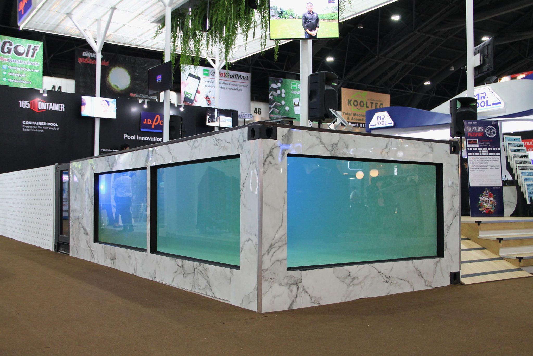 เจ.ดี.พูลส์ บุกตลาดสระว่ายน้ำกลาง-ล่าง เปิดตัว คอนเทนเนอร์พูล - คริสตัลพูล เจาะโรงแรม-รีสอร์ท-คอนโด 2 -