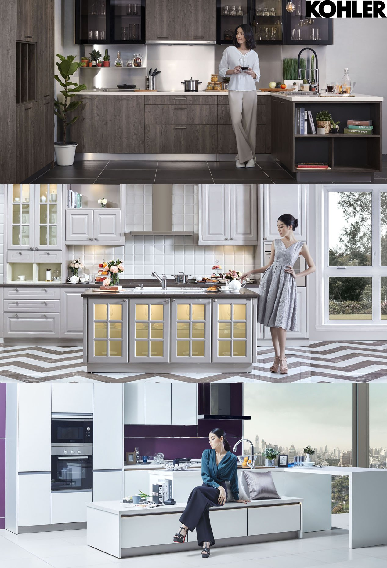 KEEP COOKING, AND CHILL OUT with KOHLER Kitchens. เมื่อครัวไม่ใช่แค่พื้นที่สำหรับทำอาหารเท่านั้น