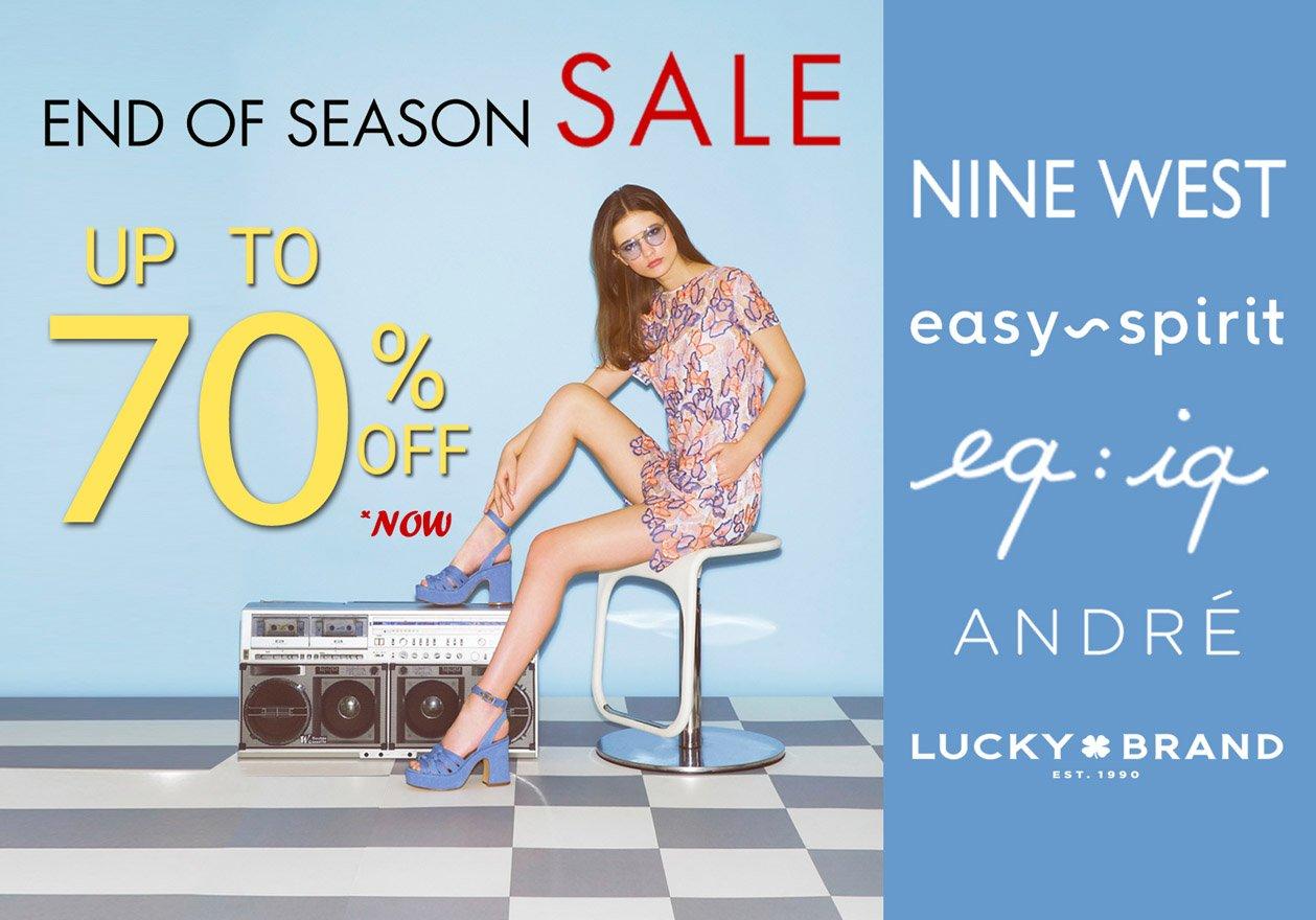 GRI Fashion End of Season Sale - มอบส่วนลดสูงสุด 70%