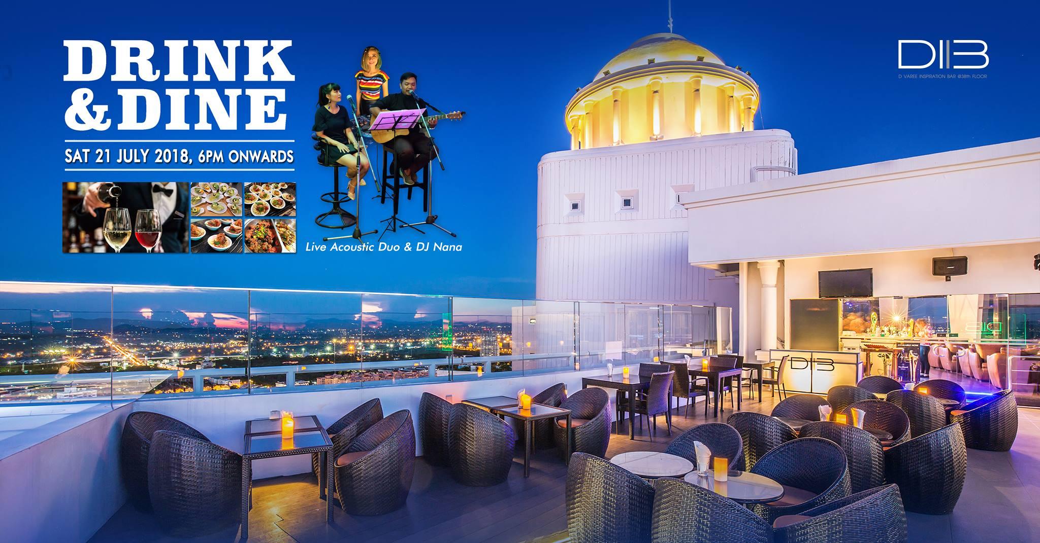Drink n Dine at D.I.B Sky Bar, Pattaya 13 -
