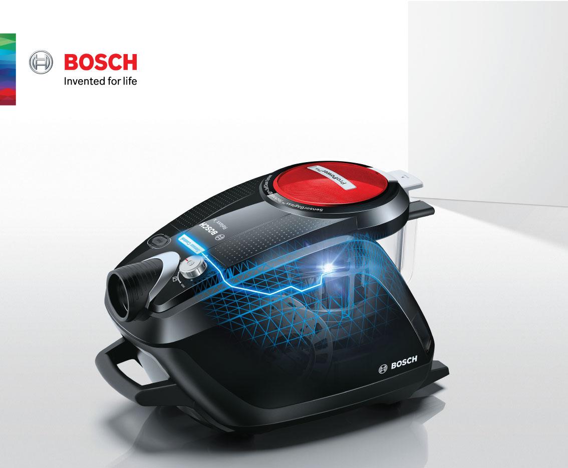 BSH พาไปรู้จักเทคโนโลยีเครื่องดูดฝุ่น Bosch 13 -