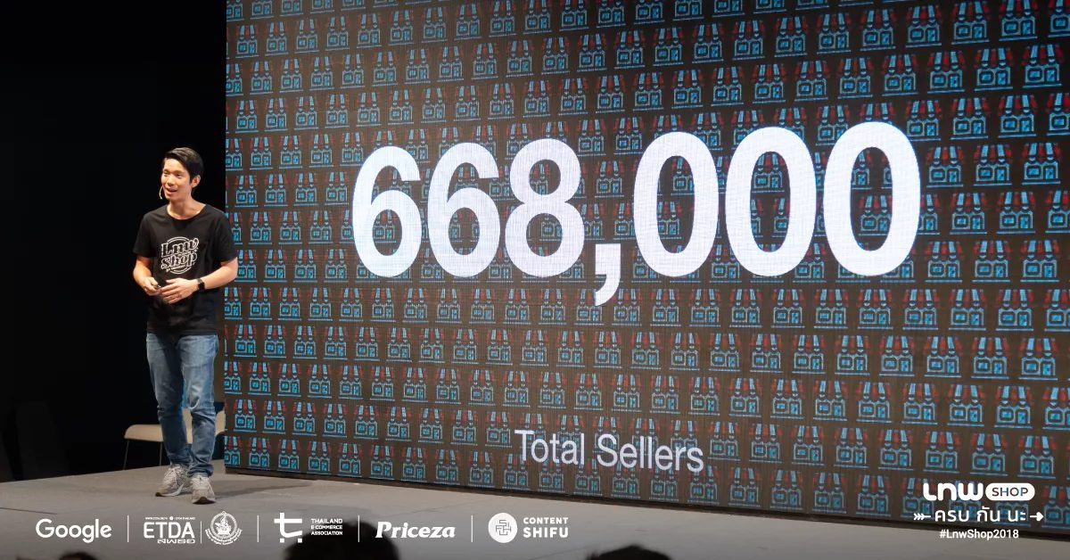LnwShop เผยตัวเลขยอดขายร้านค้าออนไลน์รายย่อย รวมมากกว่า 8 พันล้านบาท 13 -