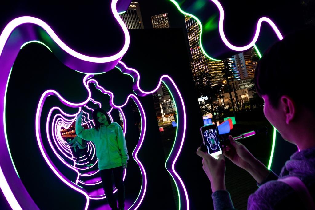 ชมสีสันไฟประดับใจกลางฮ่องกงในงาน Hong Kong Pulse Light Festival 13 -