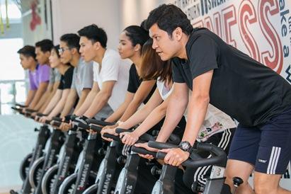ปั่น ปั่น ไปกับ คลาส V Bike เคล็ดลับเพื่อหุ่นสวยสุขภาพดี ณ LIFESTYLES ON 26 13 -