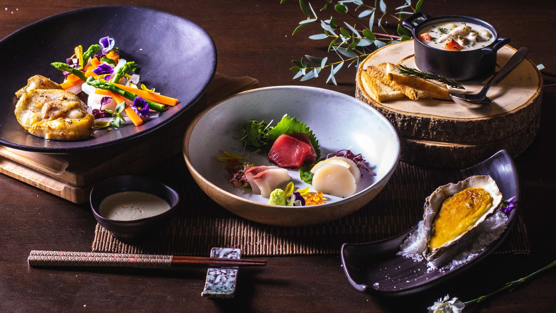 พบกับชุดอาหารญี่ปุ่นมื้อค่ำเพื่อต้อนรับเข้าสู่ฤดูหนาวในกรุงเทพฯ ได้ที่ร้านอาหารเท็นชิโนะ โรงแรมพูลแมน คิง เพาเวอร์ กรุงเทพ 2 -