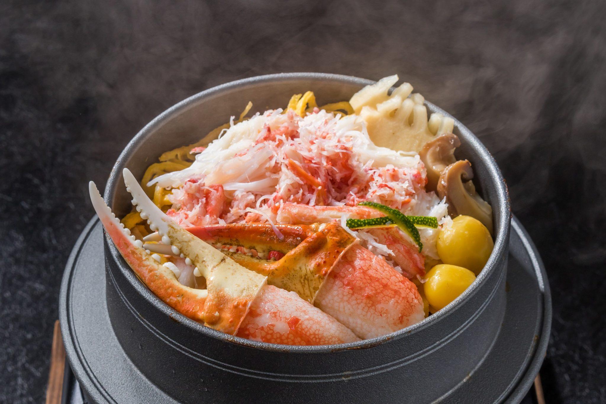 เมนูพิเศษประจำฤดูหนาวจากปูเมนูปูยักษ์ฮอกไกโด ปลาบุรี และปลาอามะได ห้องอาหารญี่ปุ่น คิสโสะ โรงแรม เดอะ เวสทิน แกรนด์ สุขุมวิท 13 -