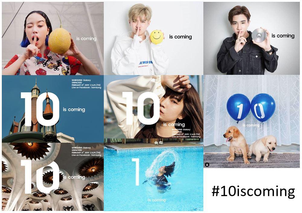 ซัมซุงปล่อยแคมเปญ '10 is coming' ชวนกาแลคซี่แฟน แชร์ภาพร่วมลุ้นเป็นส่วนหนึ่ง งานเปิดตัวสมาร์ทโฟนรุ่นใหม่ 21 ก.พ. นี้ 2 - samsung