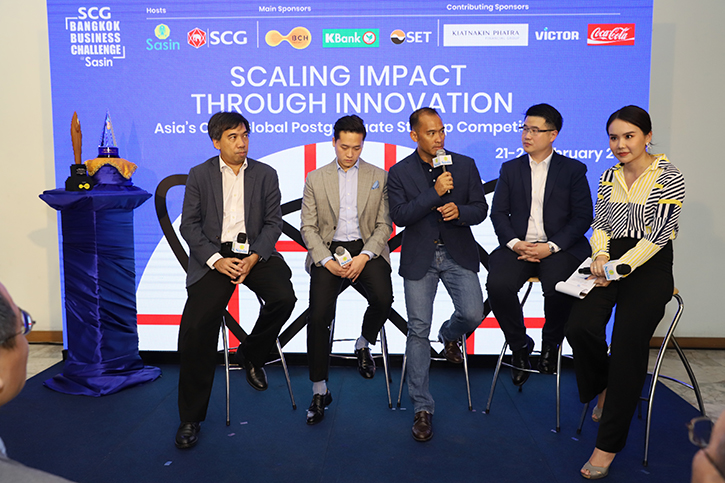 ศศินทร์ จับมือ เอสซีจี จัดศึก SCG Bangkok Business Challenge @ Sasin 2019 การแข่งขันสตาร์ทอัพระดับโลกของนักศึกษาบัณฑิตศึกษาเพียงแห่งเดียวในประเทศไทย ต่อยอดแนวคิดคนรุ่นใหม่ด้านนวัตกรรมและเทคโนโลยี 13 -