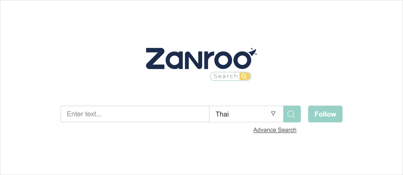 อยากรู้เรื่องอสังหาใหม่ๆ ไม่ตกเทรนด์ ต้องลอง Zanroo Search  Search Engine รูปแบบใหม่ สัญชาติไทยแท้ 13 - Zanroo