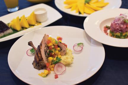 อิ่มอร่อยสารพันเมนูมะม่วง ณ ห้องอาหาร ดิ อีทเทอร์รี่ โรงแรมโฟร์พอยท์ส บาย เชอราตัน กรุงเทพฯ สุขุมวิท 15 13 -