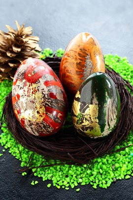 ไข่หลากสี และกระต่ายน้อยน่ารัก พร้อมมอบความสุขในวันอีสเตอร์ที่กำลังมาถึงที่ซิงก์ เบเกอรี่ 13 -