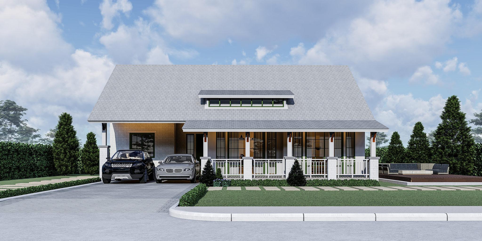 สร้างบ้านตากอากาศสไตล์รีสอร์ท พร้อมบ้านตัวอย่างจริงให้เข้าชม 13 -