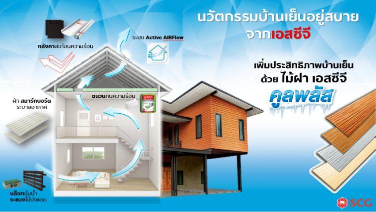 ส่องวัสดุสร้างบ้านที่ช่วยลดความร้อนจากเอสซีจี 13 -