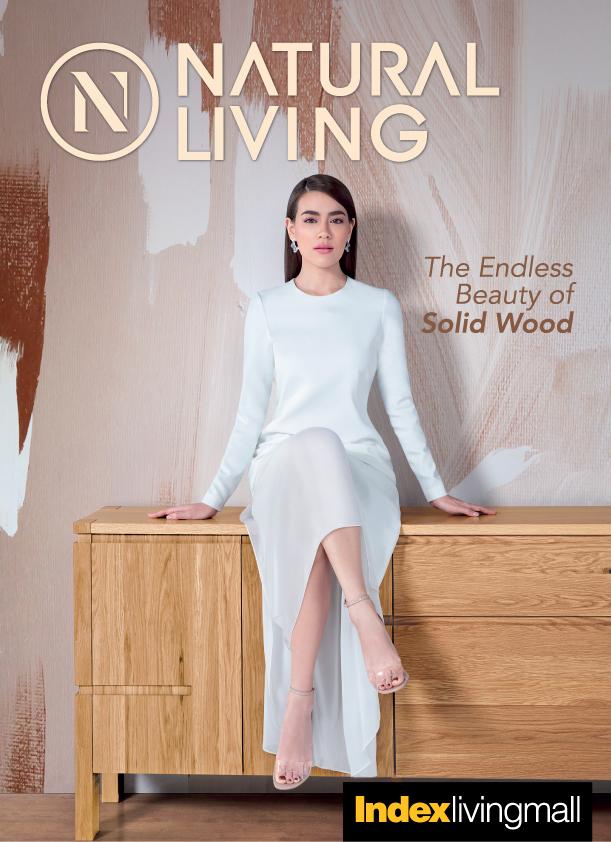 """ฉีกทุกกฎดีไซน์งานไม้จริง กับเฟอร์นิเจอร์คอลเลคชั่นใหม่""""เนเชอรัล ลิฟวิ่ง"""" (Natural Living)สมาร์ท มีระดับ สัมผัสได้ถึงความงดงามแห่งดีไซน์จาก """"อินเด็กซ์ เฟอร์นิเจอร์"""" 13 - Index Living Mall (อินเด็กซ์ ลิฟวิ่งมอลล์)"""