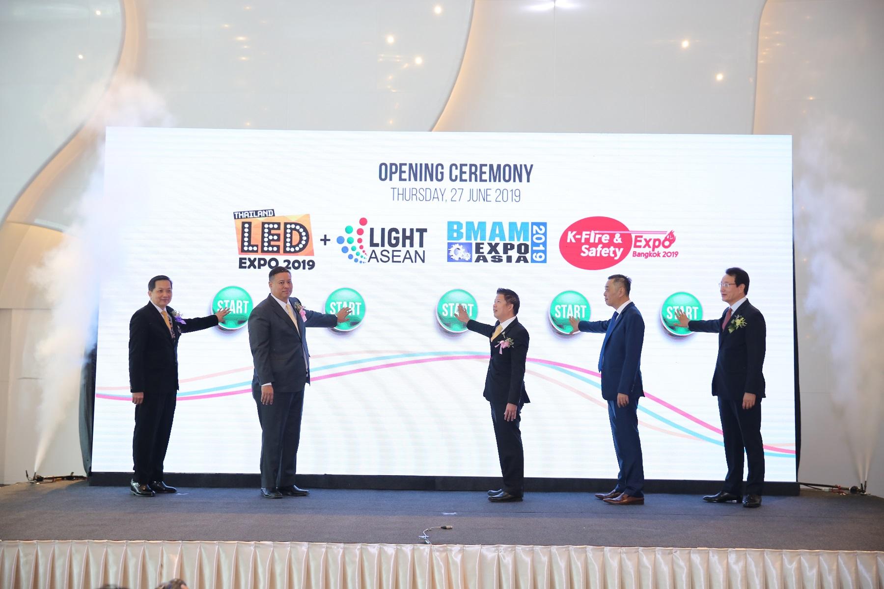 ผสานนวัตกรรมอนุรักษ์พลังงาน กับ ระบบอัจฉริยะ ในงาน BMAM Expo Asia, K-Fire & Safety Expo Bangkok, และLED Expo Thailand + Light ASEAN 13 -