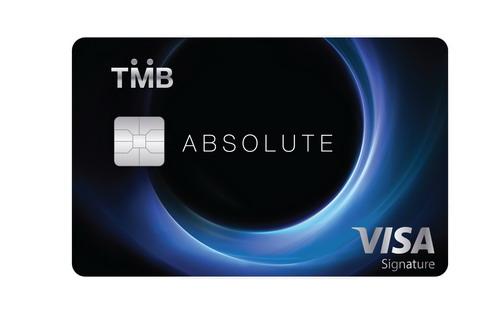 TMB ABSOLUTE บัตรเครดิตระดับบน โชว์เอกสิทธิ์เหนือชั้น 13 -