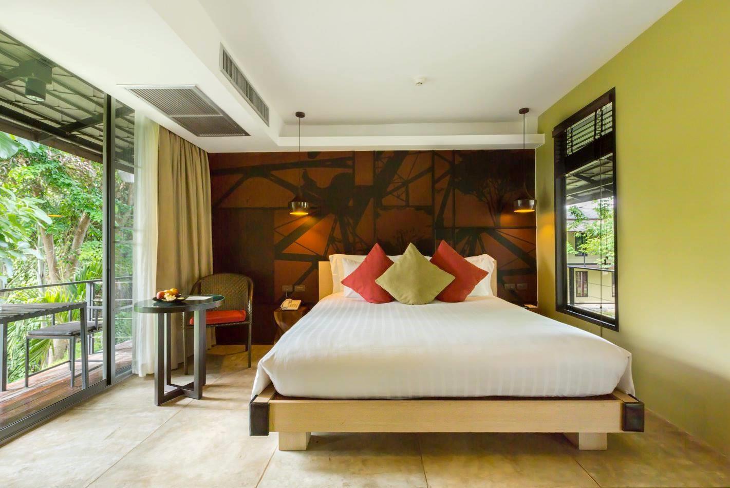 พักผ่อนท่ามกลางธรรมชาติ กับห้องพักราคาพิเศษ ที่โรงแรม ยู อินจันทรี กาญจนบุรี 13 -